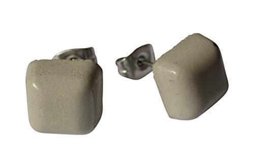 joyas-de-hormigon-pendientes-cuadrado-acero-quirurgico