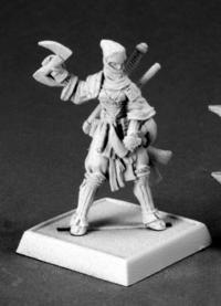 Reiko Ninja Pathfinder Reaper Miniature 60084 - 1