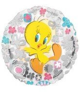 "18"" Looney Tunes Tweety Clearly Flowers - 1"