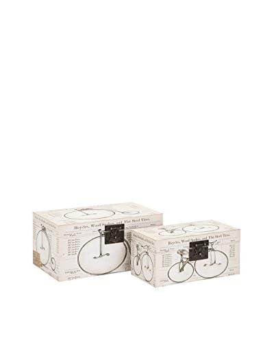 Set of 2 Buchanan Bicycle Boxes