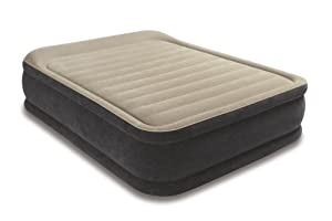 Intex Pillow Raised Airbed Kit Queen by Intex