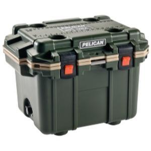 Pelican 50QT Elite Cooler - 50 Quart (Green/Tan) (50 Qt Cooler compare prices)