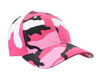 Woman's Baseball Cap - Pink Camouflage