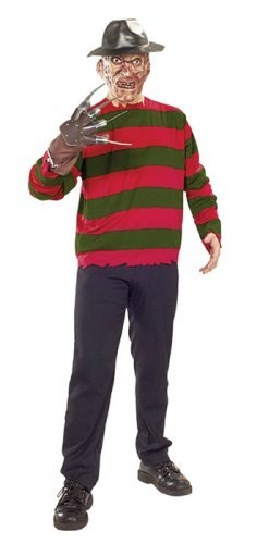 Nightmare on Elm Street Freddy Krueger Adult Costume Size Standard