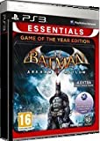 Batman Arkham Asylum Game Of The Year Edition (GOTY) Game (Essentials) PS3