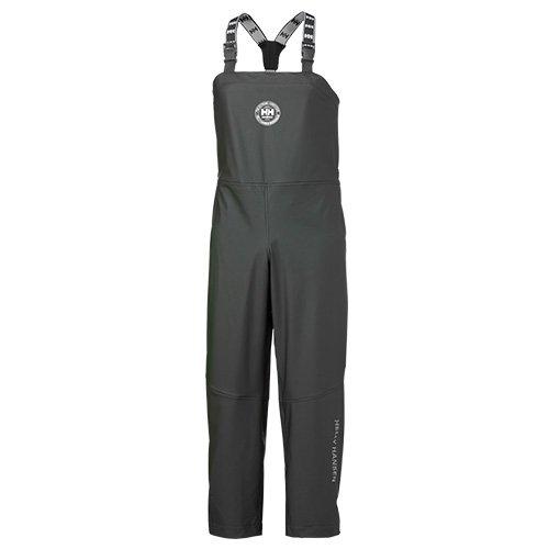 Helly Hansen West Coast Bib 70587 - Pantaloni con pettorina, impermeabili S Nero