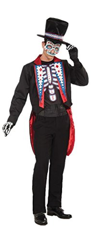 Day Of The Dead Male Costume
