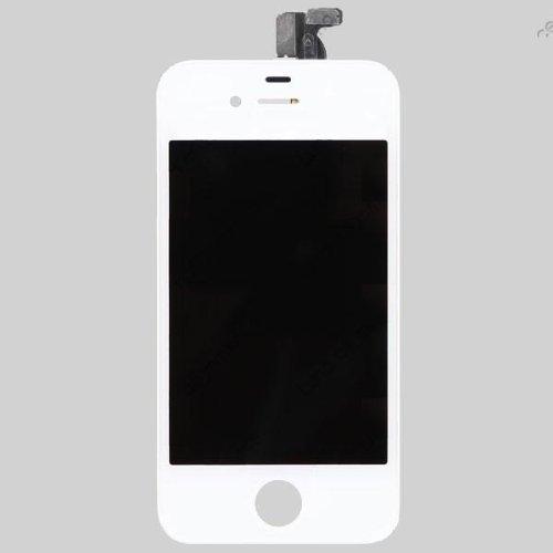 micro techno vitre tactile ecran lcd iphone 4s blanc smartphone destock. Black Bedroom Furniture Sets. Home Design Ideas
