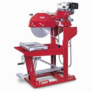 Mk 160647 5009T 460-Volt 3-Phase Wet Cutting Block Saw With 20-Inch Blade Guard