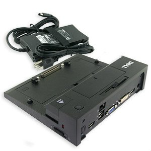 DELL E-Port Replicator with 130-Watt Power Adapter Cord for Select Dell Latitude E-Family Laptops / Precision Mobile WorkStations[Dell PN: 430-3113] by Dell Computers
