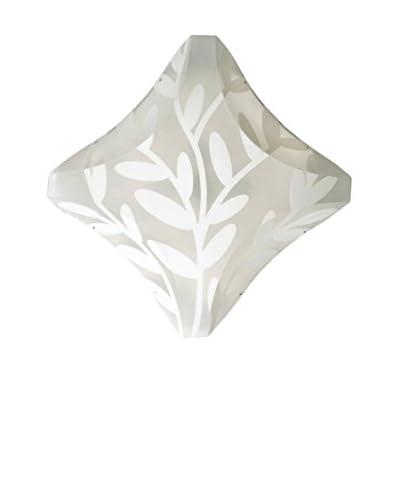 Slamp Lámpara de Pared/Techo Plana Blanco 72cm H 15cm