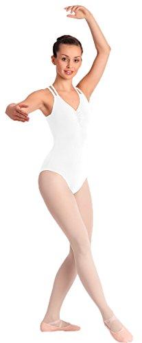 Bezaubernder Damen Ballettanzug Body mit Spaghettiträgern 2003