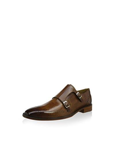 Melvin & Hamilton Zapatos Monkstrap Jeff 18 Marrón