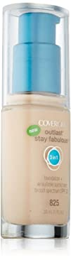 Covergirl Outlast Stay Fabulous 3-in-1 Foundation Buff Beige 825