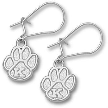 Kentucky Wildcats UK NCAA Sterling Silver Earrings