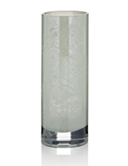 Lace Pattern Glass Vase