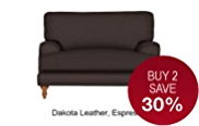 Georgia Loveseat - Leather