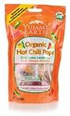 Yummy Earth Organic Lollipops Hot Chili 8212 3 oz