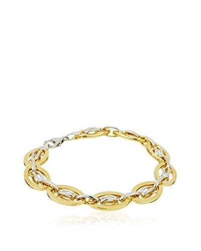 GOLD & Diamonds Braccialetto Susan [Argento/Metallo Dorato]