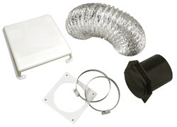Westland VID403A Deluxe Dryer Vent Kit