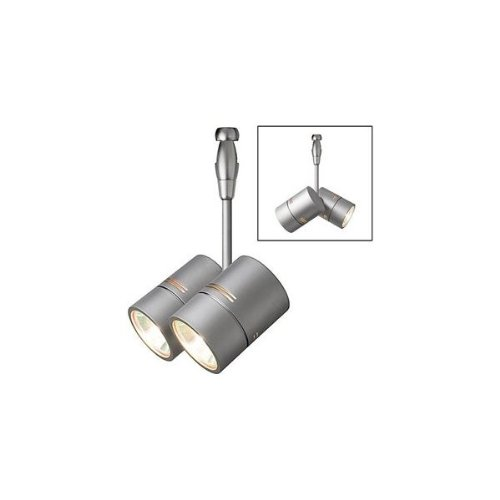 LBL Lighting HE382BZ031A35MR2 Twin Spot Swivel 2 Circuit Monorail Low Voltage