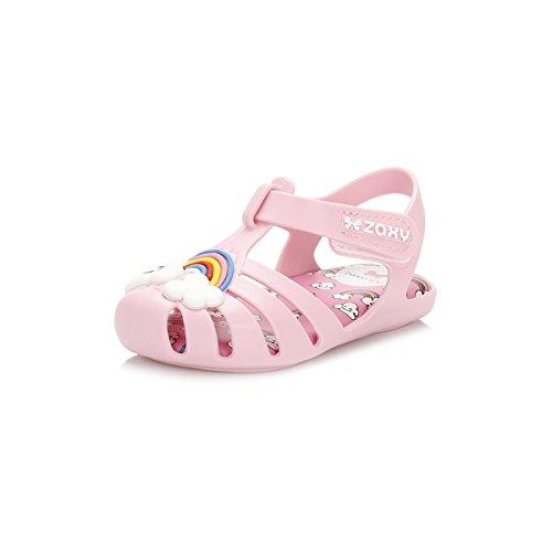 Zaxy Bebé Heaven Rosa Rainbow Sandali-UK 4 Bambino