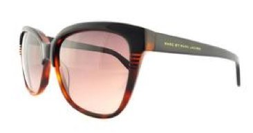 MARC BY MARC JACOBS MMJ 391/S Sunglasses 0UVP Black Tortoise HA Brown Gradient 56-15-140