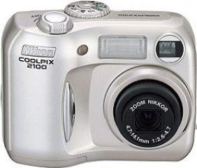 Nikon - Coolpix 2100 - Appareils Photo Numériques 2.1 Mpix - Zoom Optique 3 x
