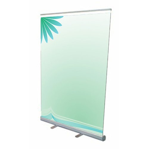 """Fantastic Displays 57"""" Retractable Banner Stand - Economy"""