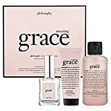 Philosophy Amazing Grace Layering Set, Trial Size sport  Trial Sizes trial Sport News Size Shampoo Salt Scrub Product Description Physique Philosophy New Experience Layering Incense Hot grace Fragrance Femininity Eau De Toilette Spray Candy Cane Brand New Beauty Amp Amazing Grace amazing 