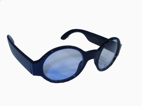 Supernerd ovale Klarglasbrille