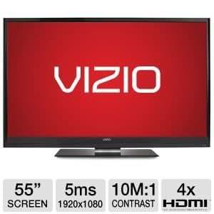 """Vizio VM3D550D 55"""" 1080p 240Hz LED Smart 3D TV RB"""