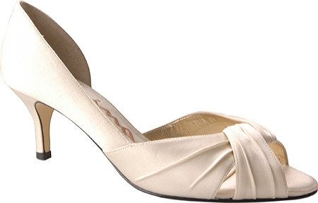 Nina Women's Culver Bridal Pump,Ivory Luster,10 M US (Bridal Shoes Ivory compare prices)