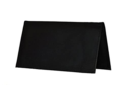 12. LeatherBoss Plain Checkbook Cover