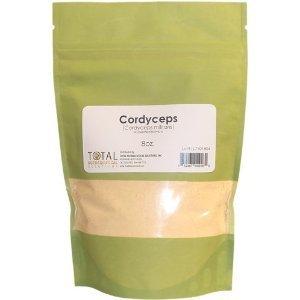 Cordyceps (Cordyceps militaris) 8oz.-Organic dried Mushroom Powder-Myceliated Biomass