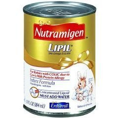Nutramigen Lipil - Liquid Infant Formula - Concentrate - 13 Oz Can, 520 Cal - Case Of 12