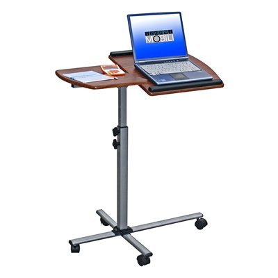 Buy Low Price Comfortable Mad Tech 36x16x30 Mahogany Mdf Panel & Steel Frame Computer Office Desk Table (B004W0MFA2)