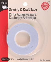 Dritz Sewing & Craft Tape 1/4