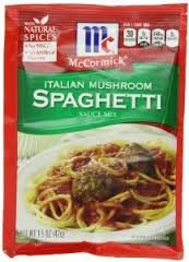 Mccormic Italian Mushroom Spaghetti Sauce Mix 1.5oz Pack of (3) (Italian Mushrooms compare prices)