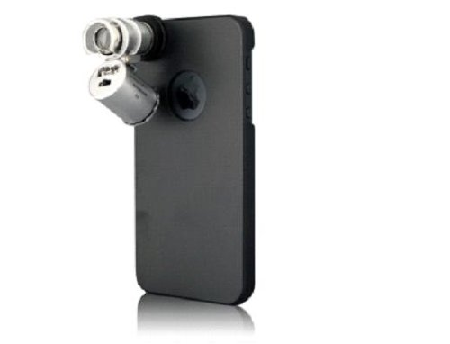 Microscope 60x Case for iPhone 5 60倍顕微鏡付きケース for iPhone 5