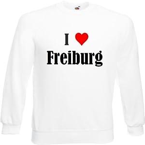"""Sweatshirt """"I Love Freiburg """" Niedersachsen verschiedene Farben S M L XL 2XL"""