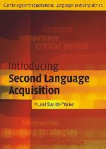 Introducing Second Language Acquisition (Cambridge...