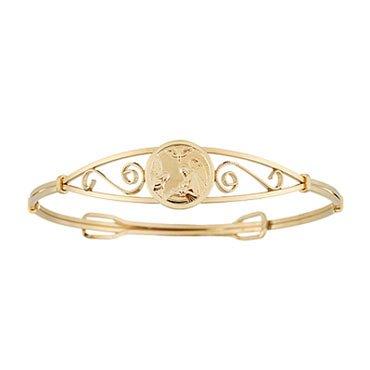 Child's Guardian Angel Bangle Bracelet