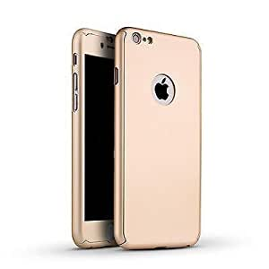 Rapid Zone Top-Quality Luxury Leather Ultra Thin Back Cover for Apple iPhone 6/6S - Golden