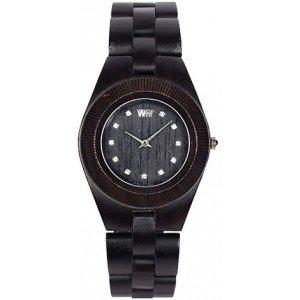 WeWood Moon Black Wood Watch