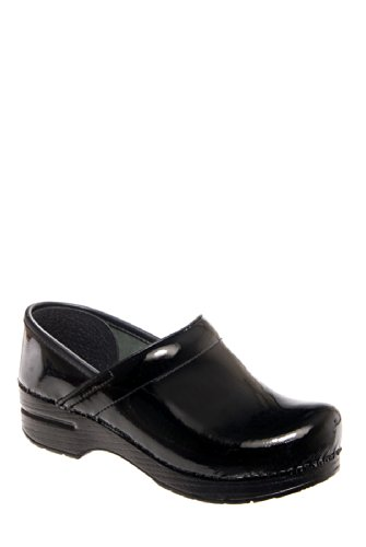 Dansko Professional Patent Clog - Black Patent Leather 406