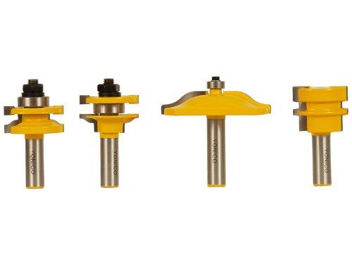 Rail Stile Cabinet Door Router Bit Set 4 Bit Ogee 1 2