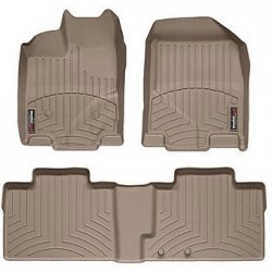 img View detail Weathertech 45154-1-2 Front and Rear Floorliners from amazon.com