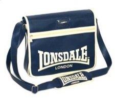 Lonsdale Inghilterra 121684-Borsone sportivo sport Box Shoulder Flap Bag Color: Blu, Navy