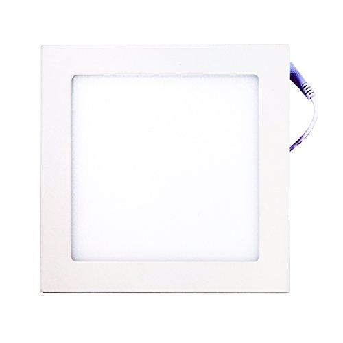 Genssi® Led Ceiling Panel Light Down Lamp Square (6K Cool White)